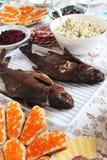 Cocina rusa tradicional Fotografía de archivo libre de regalías