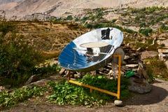 Cocina solar Imágenes de archivo libres de regalías