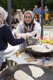 Cocina turca tradicional Imagen de archivo libre de regalías
