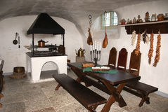 Cocina vieja Imágenes de archivo libres de regalías