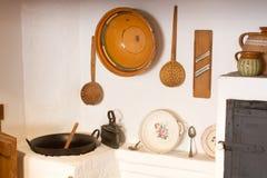 Cocina vieja Imagenes de archivo