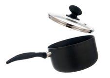 Cocinando el pote aislado Foto de archivo libre de regalías