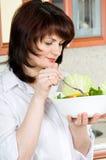 Cocinar el alimento Foto de archivo