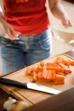 Cocinar el alimento sano fotografía de archivo libre de regalías