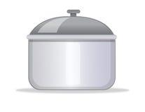 Cocinar el crisol Imagen de archivo