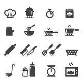 Cocinar el icono Fotos de archivo libres de regalías