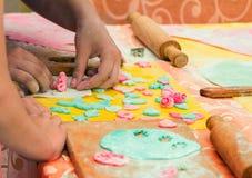 Cocinar el taller sobre festival de la familia de la caridad Imagenes de archivo