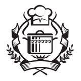 Cocinar la bandera Imagen de archivo libre de regalías