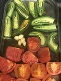 Cocinar la salsa Imagenes de archivo