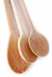 Cocinar las cucharas Imagenes de archivo