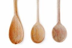 Cocinar las cucharas Foto de archivo libre de regalías