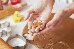 Cocinar las galletas Fotos de archivo libres de regalías