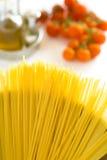Cocinar las pastas Imagen de archivo libre de regalías