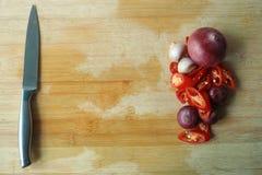Cocinar los ingredientes Fotos de archivo libres de regalías