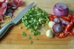 Cocinar los ingredientes Fotos de archivo