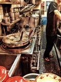 Cocinar los ramen Foto de archivo libre de regalías