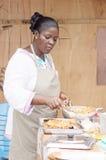 Cocinar pescados Foto de archivo libre de regalías