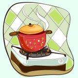 Cocinar vector Foto de archivo libre de regalías