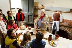 Cocinas reales en el palacio de Kew fotos de archivo