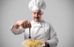 Cocinero Foto de archivo libre de regalías