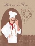 cocinero Imágenes de archivo libres de regalías