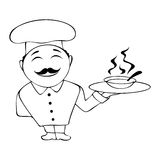 Cocinero Fotografía de archivo libre de regalías
