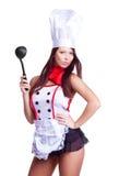 Cocinero atractivo Fotos de archivo libres de regalías