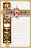 Cocinero Book Ornamental Page del vintage Fotografía de archivo libre de regalías