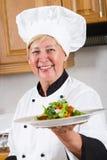 Cocinero cómodo Fotografía de archivo