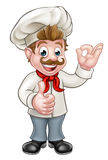 Cocinero Cartoon Character Mascot Fotos de archivo