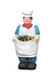 Cocinero con las flores Fotografía de archivo libre de regalías