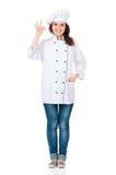 Cocinero de la mujer Fotos de archivo