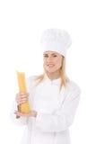 Cocinero de la mujer Fotografía de archivo libre de regalías