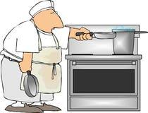 Cocinero de la orden corta Imagenes de archivo