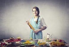 Cocinero de los jóvenes Imagen de archivo libre de regalías