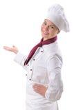 Cocinero de sexo femenino Imagen de archivo libre de regalías