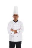 Cocinero de sexo masculino indio Foto de archivo libre de regalías