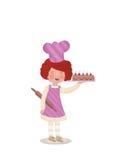 Cocinero del bebé Imagen de archivo libre de regalías