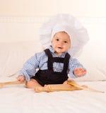 Cocinero del bebé Fotografía de archivo libre de regalías