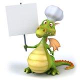 Cocinero del dragón ilustración del vector
