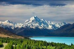 Cocinero del montaje, Nueva Zelandia Fotografía de archivo libre de regalías