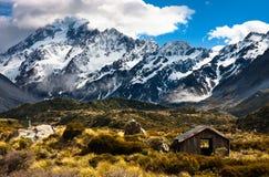 Cocinero del Mt, Nueva Zelandia Imagen de archivo