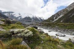 Cocinero del Mt, Nueva Zelandia Fotografía de archivo