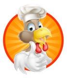 Cocinero del pollo ilustración del vector