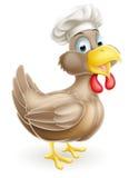 Cocinero del pollo de la historieta Imágenes de archivo libres de regalías