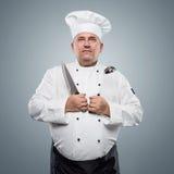 Cocinero divertido fotografía de archivo libre de regalías