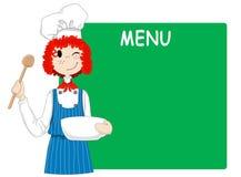 Cocinero feliz libre illustration