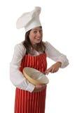 Cocinero feliz Foto de archivo