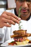 Cocinero indio Foto de archivo libre de regalías