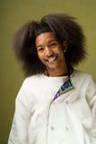 Cocinero joven del afroamericano imágenes de archivo libres de regalías